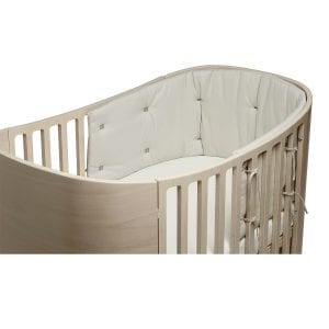 Leander Classic Cot with Organic in Cappuccino