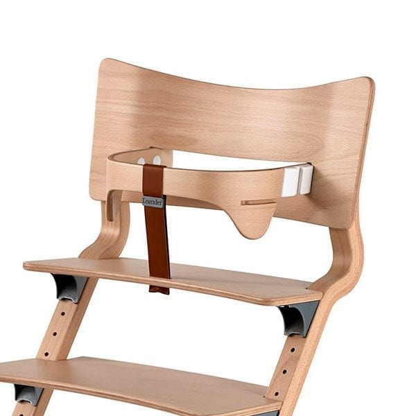 Leander Classic High Chair with Safety Bar in Place