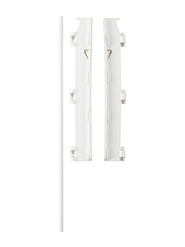 BabyDan Flex Configure Mounting Brackets in White