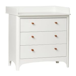 Leander Classic Dresser and Change Unit White
