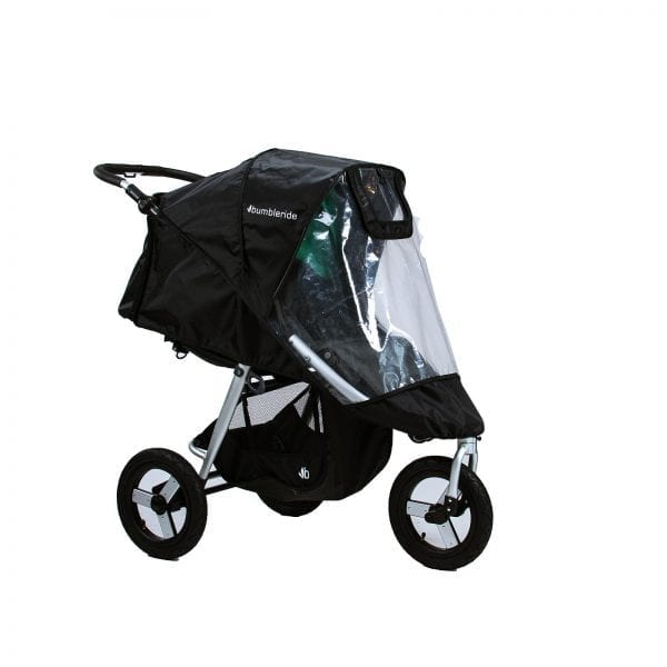 Bumbleride Indie stroller with rain cover