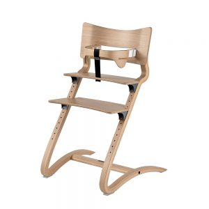 Leander baby high chair i natural wood