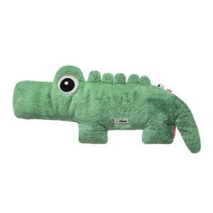Large Green plush toy crocodile from Done by Deer