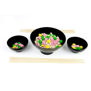 Milaniwood Wooden Cantonese Rice Game
