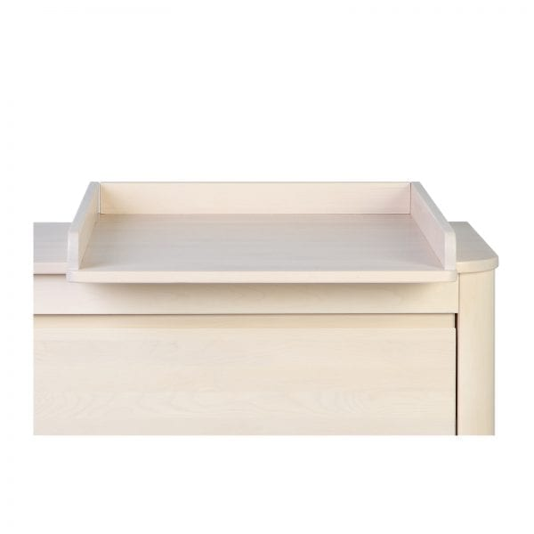 Troll SUN dresser change tray in whitewash
