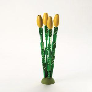 Milaniwood Wooden Domino Tulips