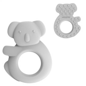 Mioplay Koala Sensory Teething Toy and Ring