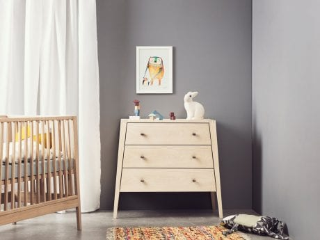 Linea by Leander dresser in natural in neutral room