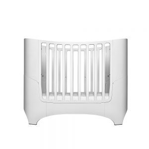 Leander Classic Cot in white with base in lower position