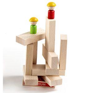 Milaniwood Crazy Palace Wooden Blocks Game