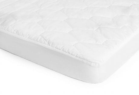Pixiebaby cot mattress protector on mattress