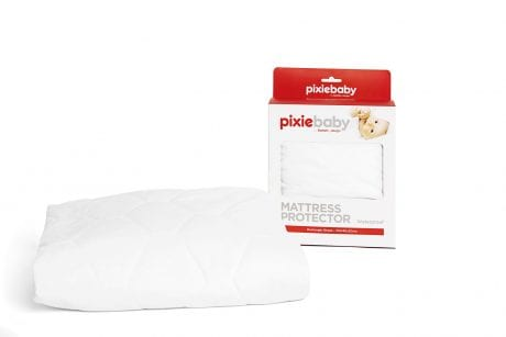 Pixiebaby cot mattress protector and its box