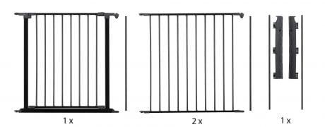 BabyDan Flexible Modular Baby Gate System Large Set Components