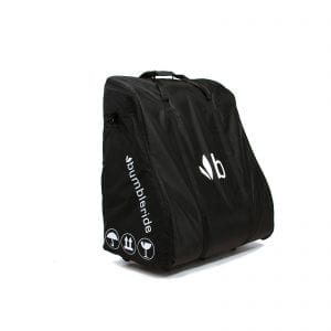 Bumbleride double stroller travel bag in black