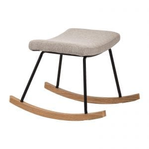 Quax rocking footstool in sand grey to match nursing chair