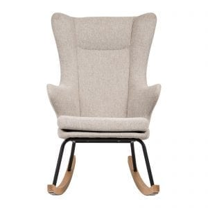 Retro design rocking nursing armchair