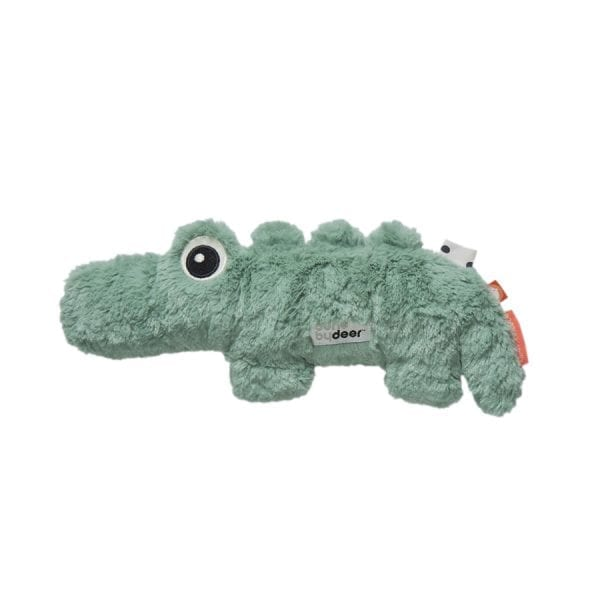 Done by Deer plush crocodile baby toy