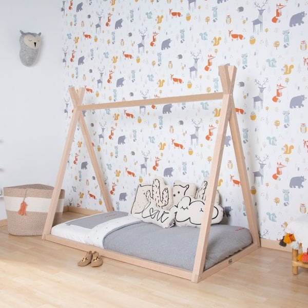 Childhome Tipi Junior Bed with Mattress