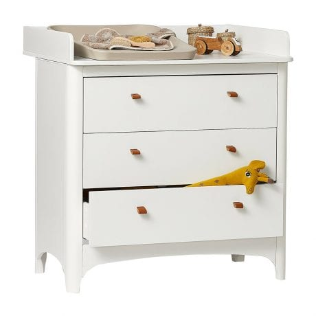 Leander Classic Dresser with Changing Unit and Matty
