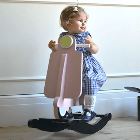 Childhome Rocking Scooter Pink