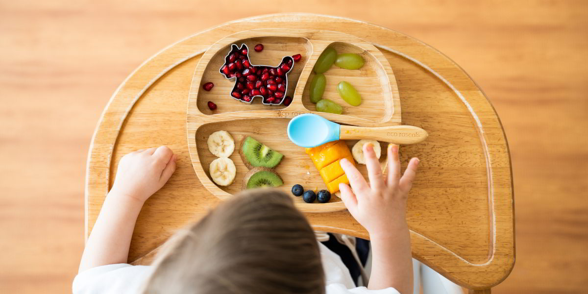 Eco Rascals Toddler Plate