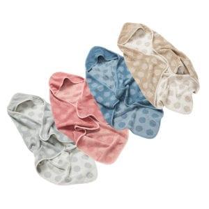 Leander Hooded Organic Towels