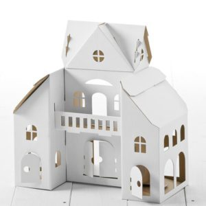Calafant Dolls House - kids cardboard model ready to decorate