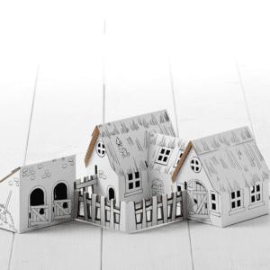 Calafant Farm Cardboard Model